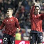 Andrés y Nekounam dan la victoria a Osasuna