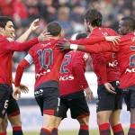 Osasuna se engancha a la lucha por la Champions
