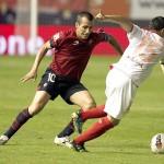 Un Osasuna sin atrevimiento cae en Sevilla
