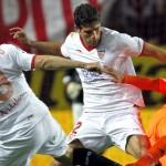 Sólo el Sevilla aguanta el ritmo a Osasuna