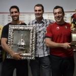Raúl García y Andrés Fernández premiados por la Federación de Peñas