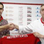 Armenteros: «He firmado por tres años y ojalá pueda quedarme más»