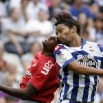 Osasuna cae derrotado en el primer partido liguero