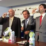 Osasuna firma el acuerdo de patrocinio con Lacturale