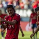 Un partido de suspensión a Llorente