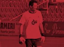Nacho Zabal lesionado con la SD Huesca