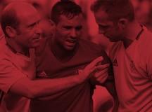 Grave lesión de Javier Flaño