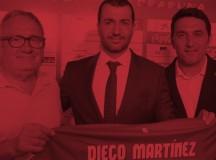 Diego Martínez presentado