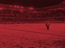 Se suspende el partido por la nieve