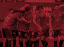 Osasuna supera al Racing de Santander
